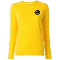 Bella Freud Suéter Com Estampa Happy Smile - Amarelo
