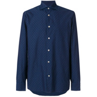 Borriello Camisa Mangas Longas - Azul