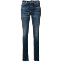Saint Laurent Calça Jeans Skinny - Azul