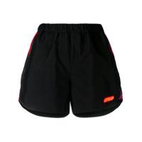 Heron Preston Logo Patch Shorts - Preto