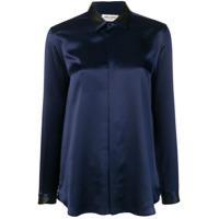 Saint Laurent Camisa Clássica - Azul