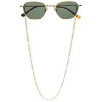 Linda Farrow Óculos De Sol Redondo - Dourado