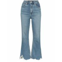3X1 Calça Jeans Cropped 'empire' - Azul