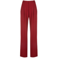 Rosetta Getty Calça De Alfaiataria Pantalona - Vermelho