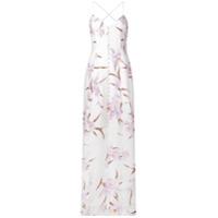 Zimmermann Vestido Longo Floral - Branco
