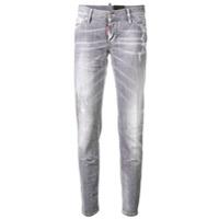 Dsquared2 Calça Jeans Skinny Jennifer - Cinza