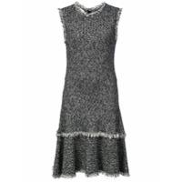 Oscar de la Renta Vestido de tweed - Preto