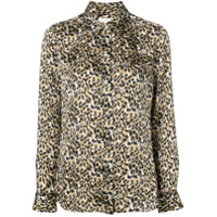 Equipment Camisa Animal Print - Neutro