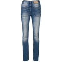A.f.vandevorst Calça Jeans Skinny Com Cintura Alta - Azul