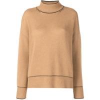 Marni Suéter Com Costura Contrastante - Neutro