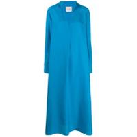 Alysi Tunic Shirt Dress - Azul
