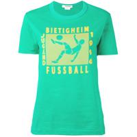 Junya Watanabe Camiseta Com Estampa - Green