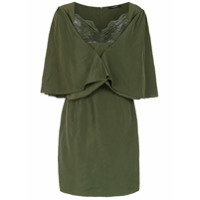 À La Garçonne Vestido 'memory' Com Renda - Green