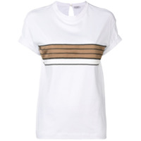 Brunello Cucinelli Relaxed Fit T-Shirt - Branco