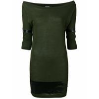 Dsquared2 Vestido Slim - Verde