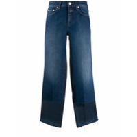 Closed Calça Jeans Cropped - Azul