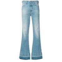 Golden Goose Calça Jeans Flare - Azul