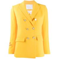 Giada Benincasa Double-Breasted Blazer - Amarelo