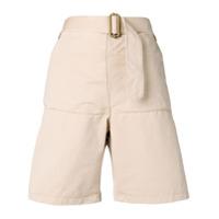 Jw Anderson Shorts Utilitário - Marrom