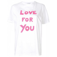 Bella Freud Blusa 'love For You' - Branco