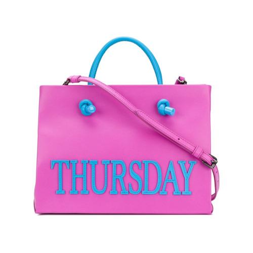 Imagem de Alberta Ferretti Bolsa tote pequena 'Thursday' - Rosa