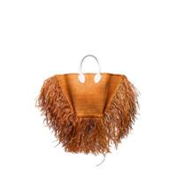 Jacquemus Bolsa Saco Le Baci Com Franjas - 50200 Brown