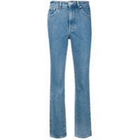 Chiara Ferragni Calça Jeans Reta 'flirting' - Azul