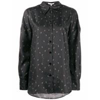 Tibi Ant Print Shirt - Preto