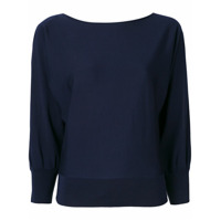 Ralph Lauren Collection Cut-Out Sleeves Knitted Sweater - Azul