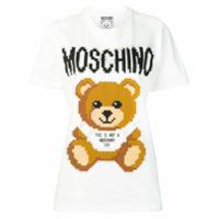 Moschino Camiseta Com Estampa Teddy Bear - Branco