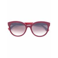 Fendi Eyewear Óculos De Sol Redondo - Rosa