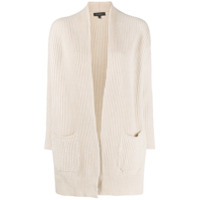 Antonelli Ribbed Knit Cardigan - Neutro