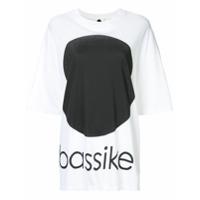 Bassike Oversized Dot T-Shirt - Branco