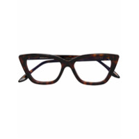 Cutler & Gross Cat Eye Glasses - Marrom