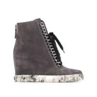 Casadei Wedged Sneakers - Cinza