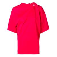 Y / Project Blusa Assimétrica - Vermelho