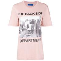 Department 5 Camiseta Com Estampa 'the Back Side' - Rosa