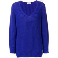 Closed Suéter Decote U - Azul