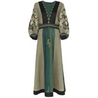 Vita Kin Vestido 'celia' De Linho - Green