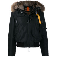 Parajumpers Cropped Down Jacket - Preto