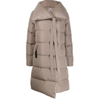 Bacon Padded Jacket With Ribbon Detaill - Cinza