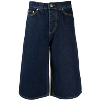 Ganni Bermuda Jeans - Azul
