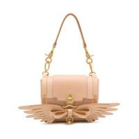 Niels Peeraer Bow-Embellished Shoulder Bag - Neutro