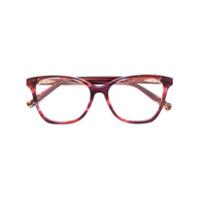 Missoni Eyewear Armação De Óculos Quadrada - Vermelho