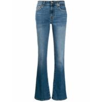 7 For All Mankind Calça Jeans Flare - Azul
