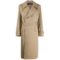 Junya Watanabe Trench Coat Clássico - Neutro