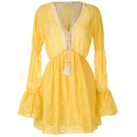 Brigitte Vestido Saída De Praia - Amarelo
