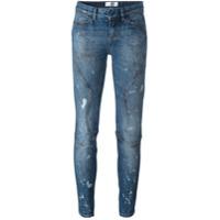 Faith Connexion Calça Jeans Skinny - Azul