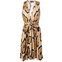 Just Cavalli Vestido Midi Estampado - Neutro