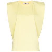 Frankie Shop Camiseta Eva Matelassê De Algodão - Amarelo